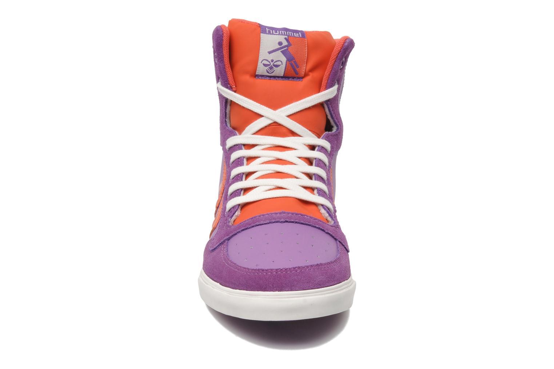 Sneakers Hummel HUMMEL SLIMSTADIL JR LEATH HG Lilla se skoene på