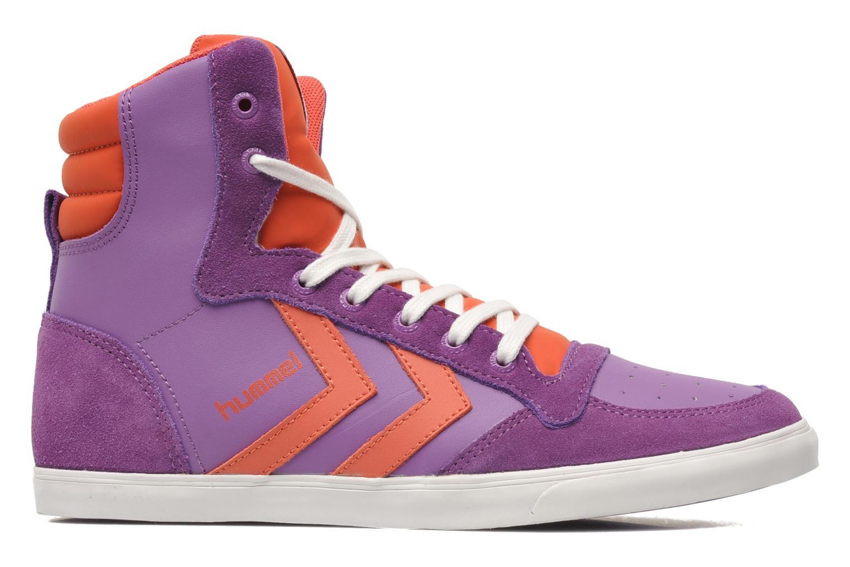Sneakers Hummel HUMMEL SLIMSTADIL JR LEATH HG Lilla se bagfra