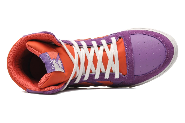 Sneakers Hummel HUMMEL SLIMSTADIL JR LEATH HG Lilla se fra venstre