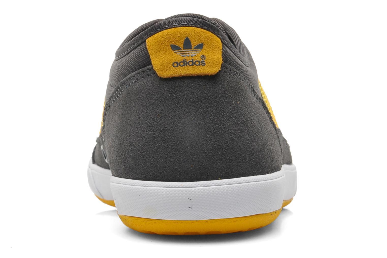 Baskets Adidas Originals Court Spin Gris vue droite
