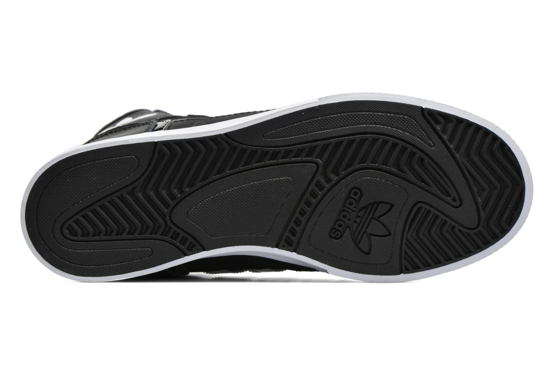 Baskets Adidas Originals Extaball W Noir vue haut