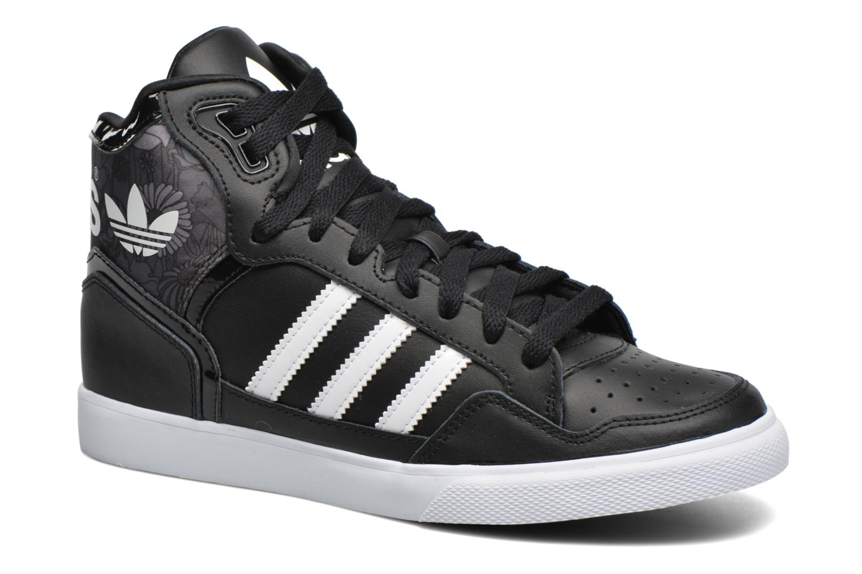 Baskets Adidas Originals Extaball W Noir vue détail/paire