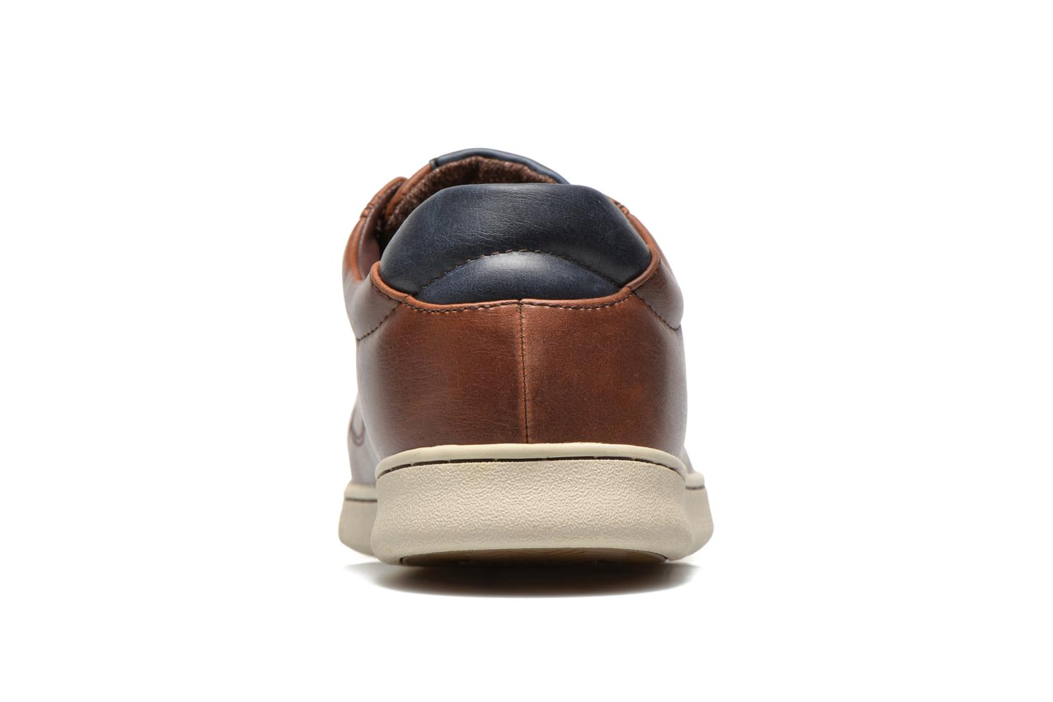 Sneakers Levi's Tulare Low Lace Bruin rechts