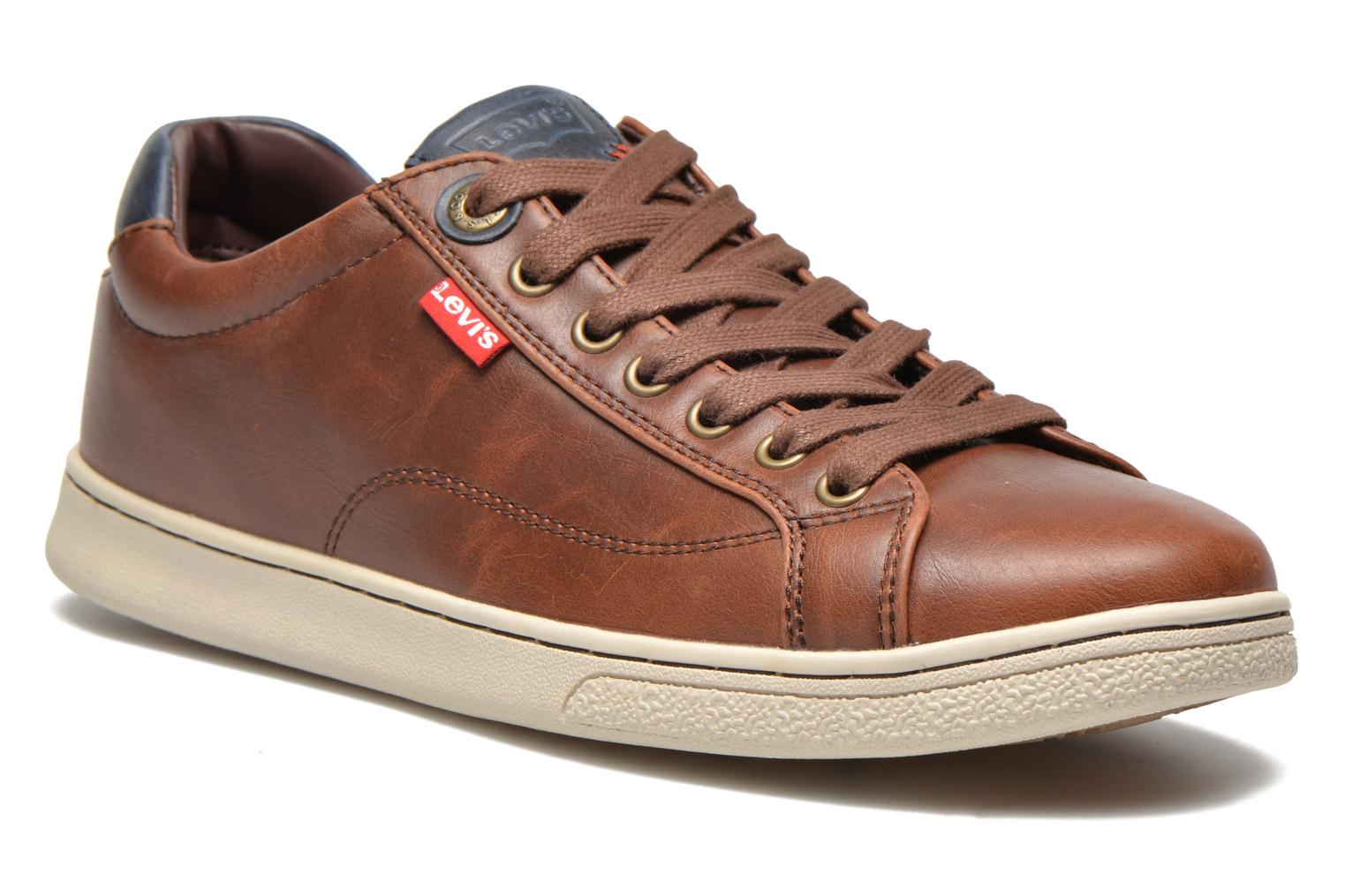 Sneakers Levi's Tulare Low Lace Bruin detail