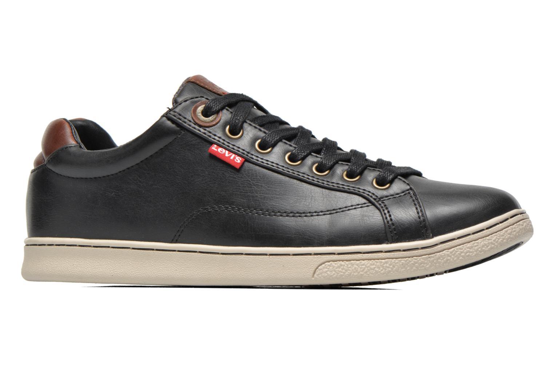 Sneaker Levi's Tulare Low Lace schwarz ansicht von hinten
