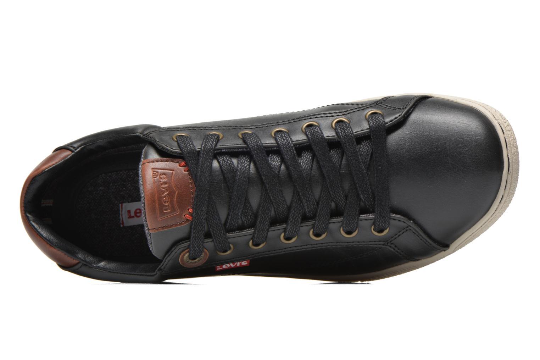 Sneaker Levi's Tulare Low Lace schwarz ansicht von links