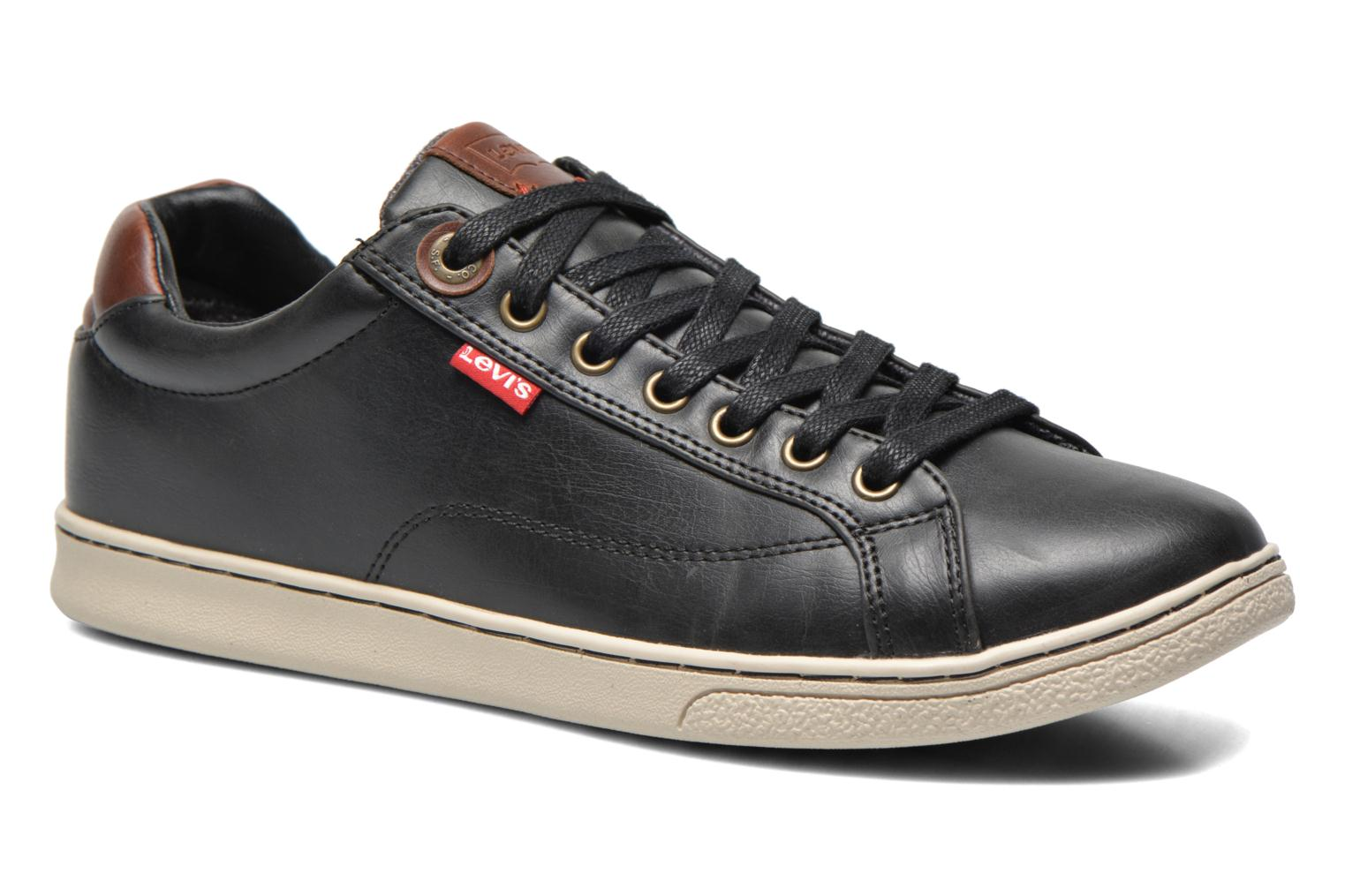 Sneaker Levi's Tulare Low Lace schwarz detaillierte ansicht/modell