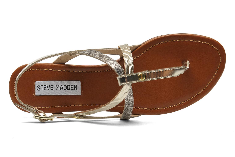 Sandalen Steve Madden Croatia beige ansicht von links