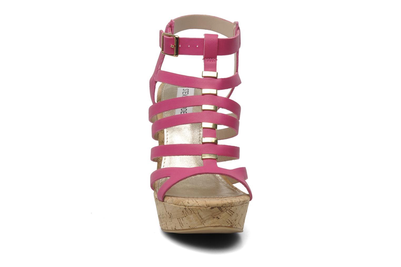 Sandales et nu-pieds Steve Madden Indyanna Rose vue portées chaussures
