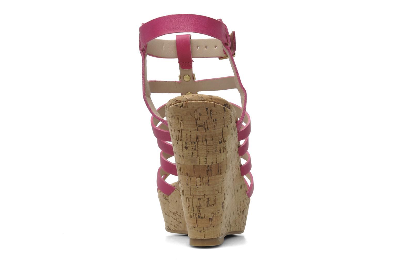 Sandales et nu-pieds Steve Madden Indyanna Rose vue droite