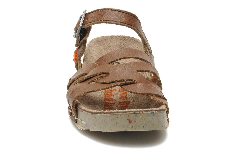 Sandales et nu-pieds Art I PLY 426 Marron vue portées chaussures