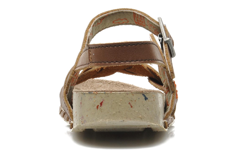 Sandales et nu-pieds Art I PLY 426 Marron vue droite