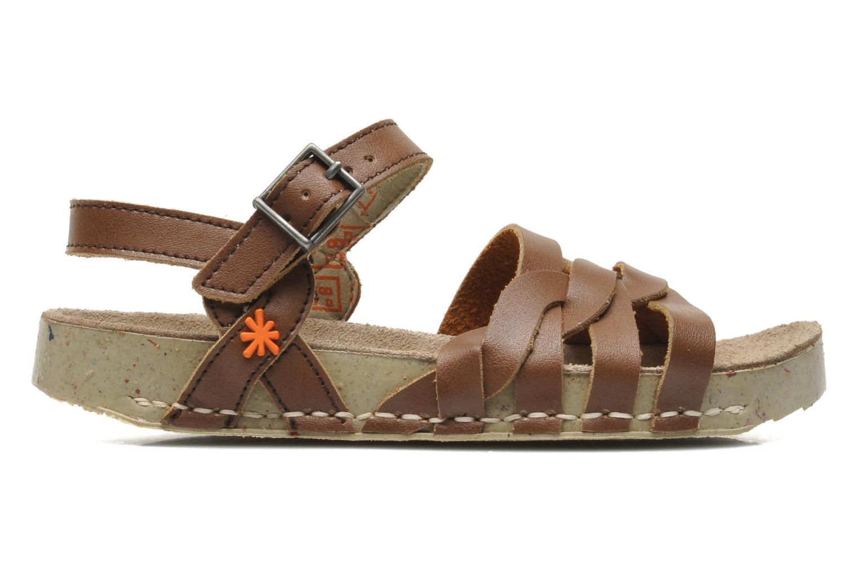 Sandales et nu-pieds Art I PLY 426 Marron vue derrière
