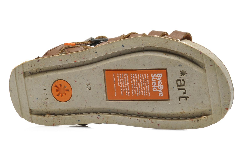 Sandales et nu-pieds Art I PLY 426 Marron vue haut