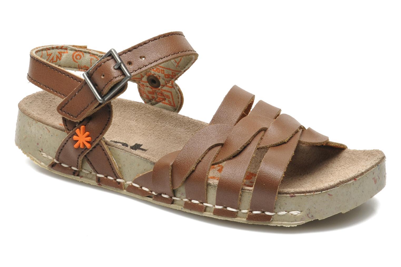 Sandales et nu-pieds Art I PLY 426 Marron vue détail/paire