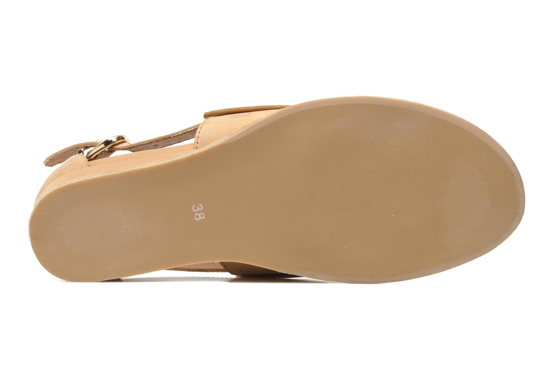 Sandales et nu-pieds Jeffrey Campbell Spf-50 Beige vue haut