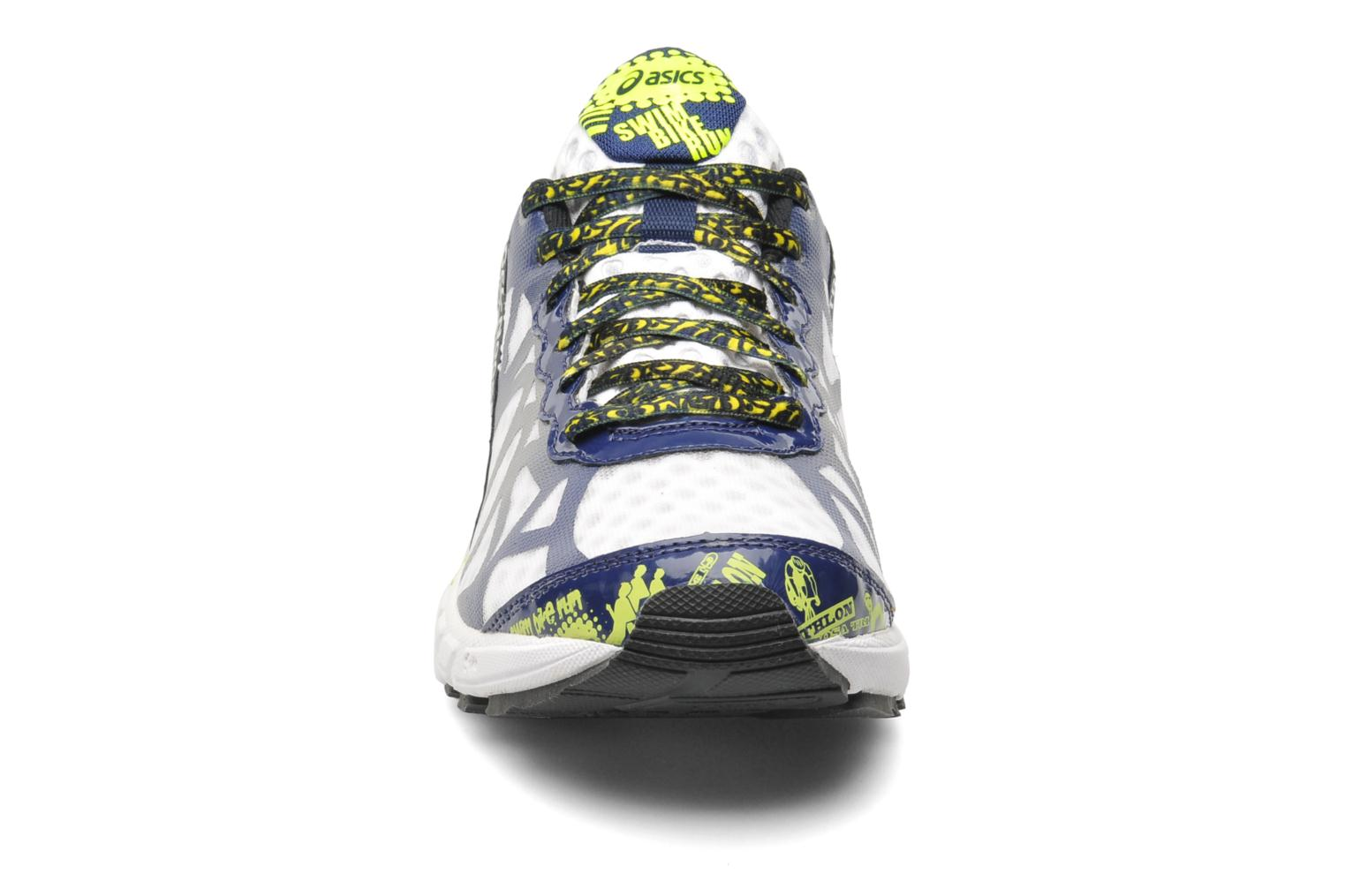 Gel-Noosa Tri 9 White/Navy/Flash Yellow