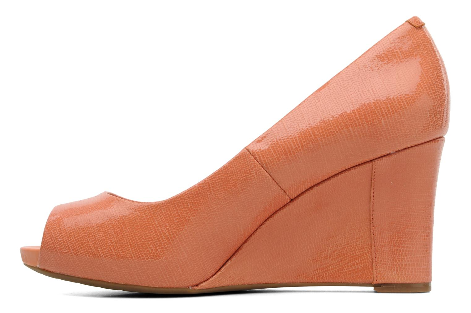 Pumps Rockport Sto7Wp85 Plain Pump orange ansicht von vorne