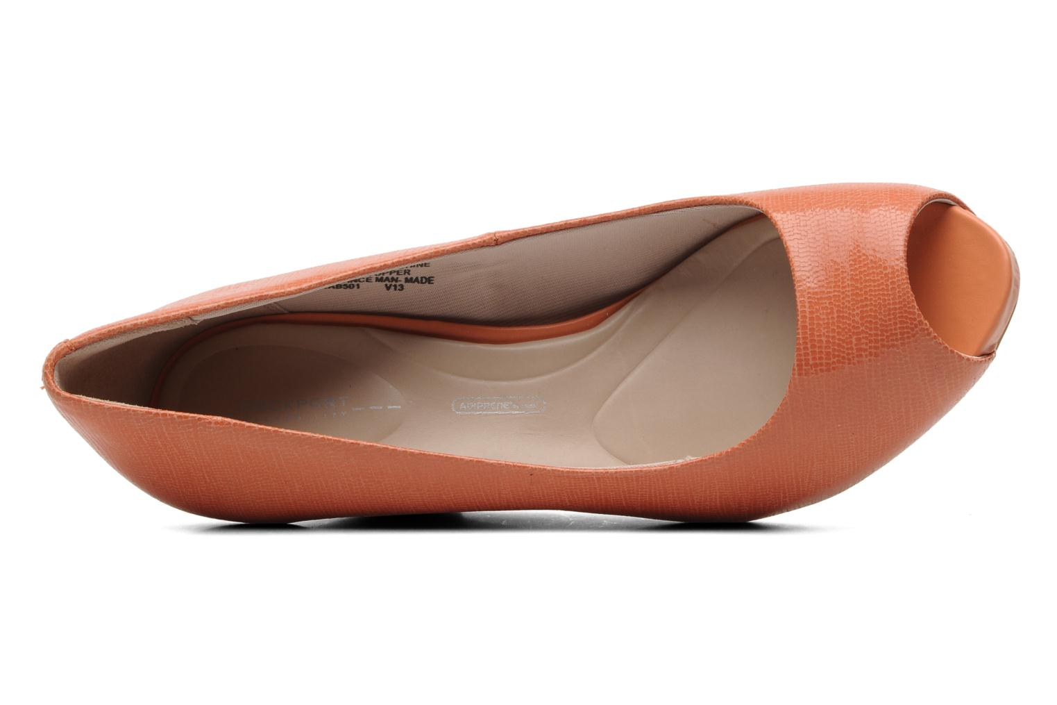 Pumps Rockport Sto7Wp85 Plain Pump orange ansicht von links