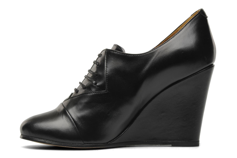 Scarpe con lacci Royal Republiq Neriya oxford shoe Nero immagine frontale