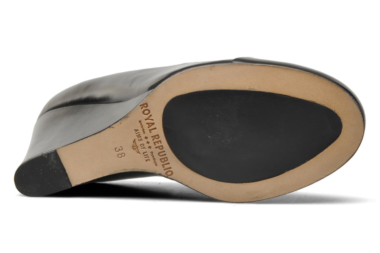 Scarpe con lacci Royal Republiq Neriya oxford shoe Nero immagine dall'alto