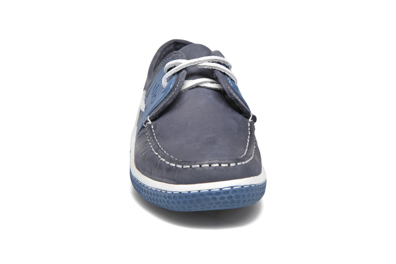 Chaussures à lacets TBS Winchs Bleu vue portées chaussures
