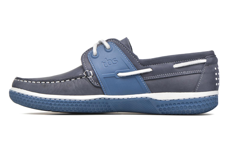 Chaussures à lacets TBS Winchs Bleu vue face
