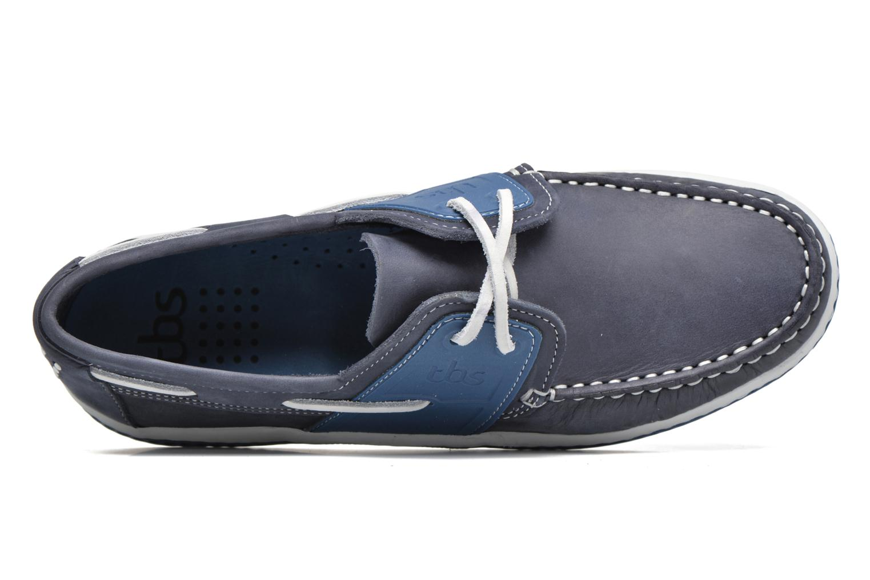 Chaussures à lacets TBS Winchs Bleu vue gauche