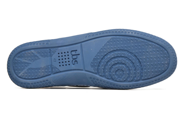 Chaussures à lacets TBS Winchs Bleu vue haut