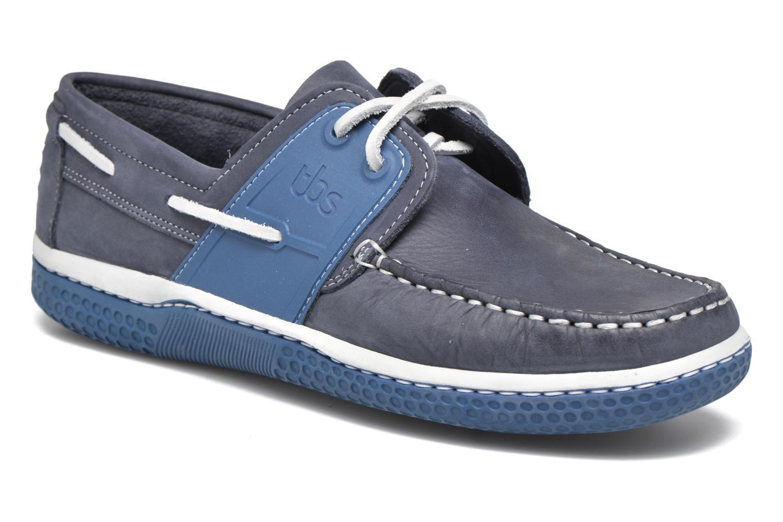 Chaussures à lacets TBS Winchs Bleu vue détail/paire