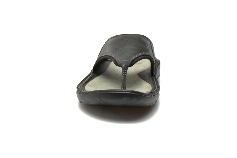 Tongs TBS Easy Walk Cartag Noir vue portées chaussures