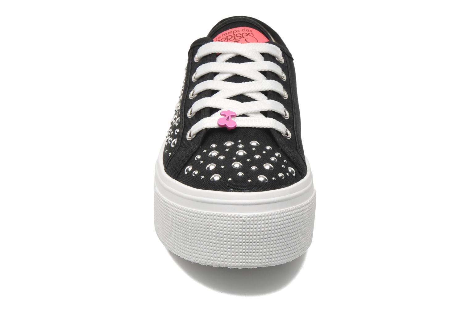 Baskets Le temps des cerises Jump Low Noir vue portées chaussures