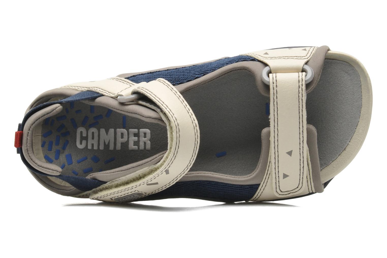 Sandales et nu-pieds Camper Ous Kids 80188 Beige vue gauche