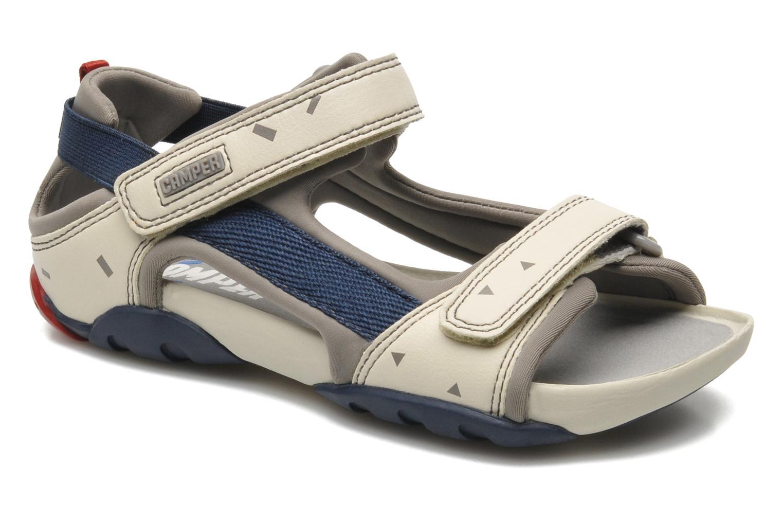 Sandales et nu-pieds Camper Ous Kids 80188 Beige vue détail/paire