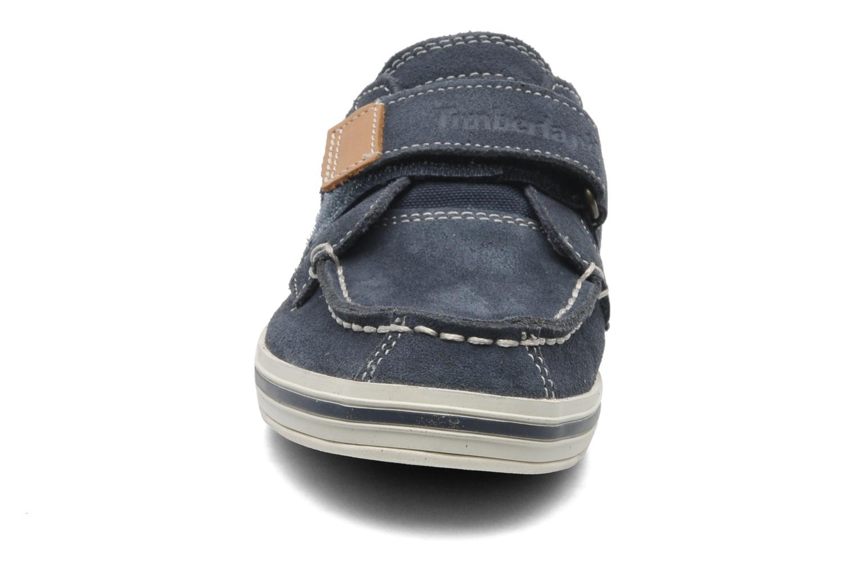Chaussures à scratch Timberland Casco bay H&L Bleu vue portées chaussures