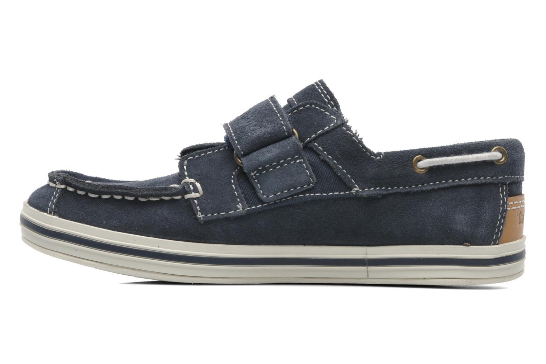 Chaussures à scratch Timberland Casco bay H&L Bleu vue face