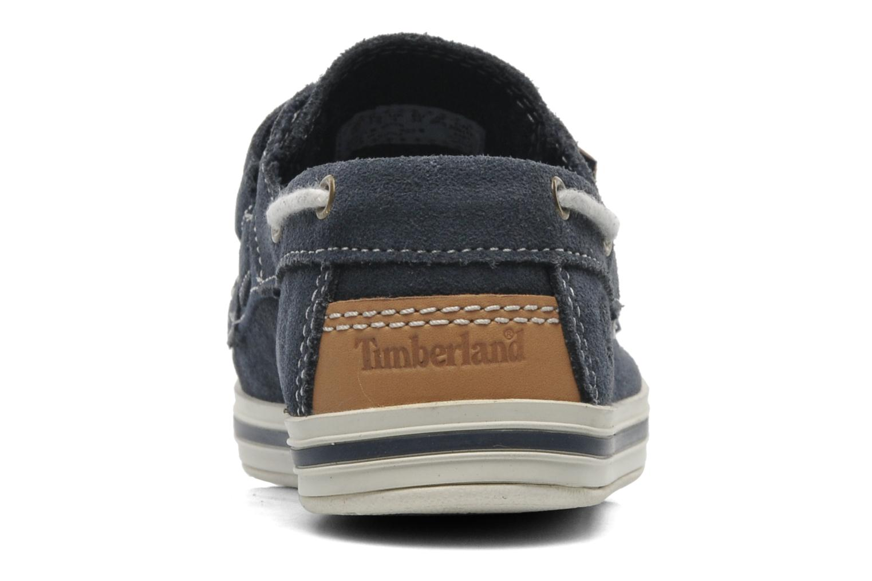 Chaussures à scratch Timberland Casco bay H&L Bleu vue droite