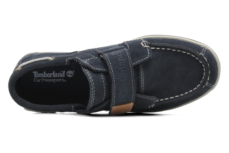 Chaussures à scratch Timberland Casco bay H&L Bleu vue gauche