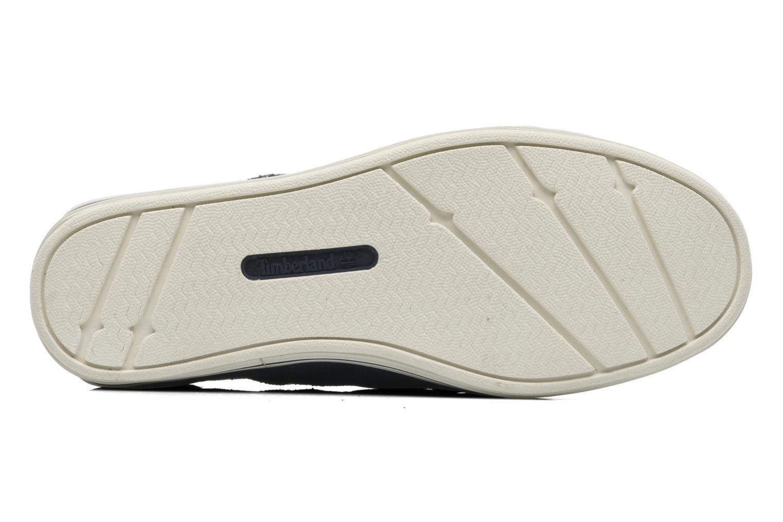 Chaussures à scratch Timberland Casco bay H&L Bleu vue haut