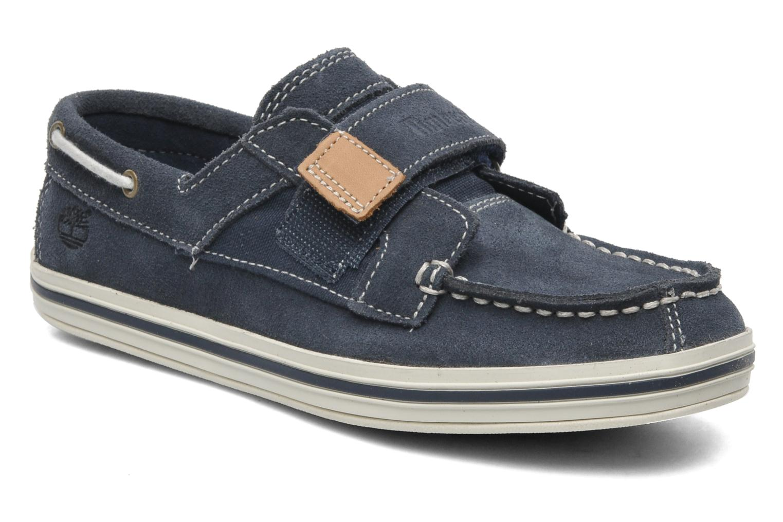 Chaussures à scratch Timberland Casco bay H&L Bleu vue détail/paire