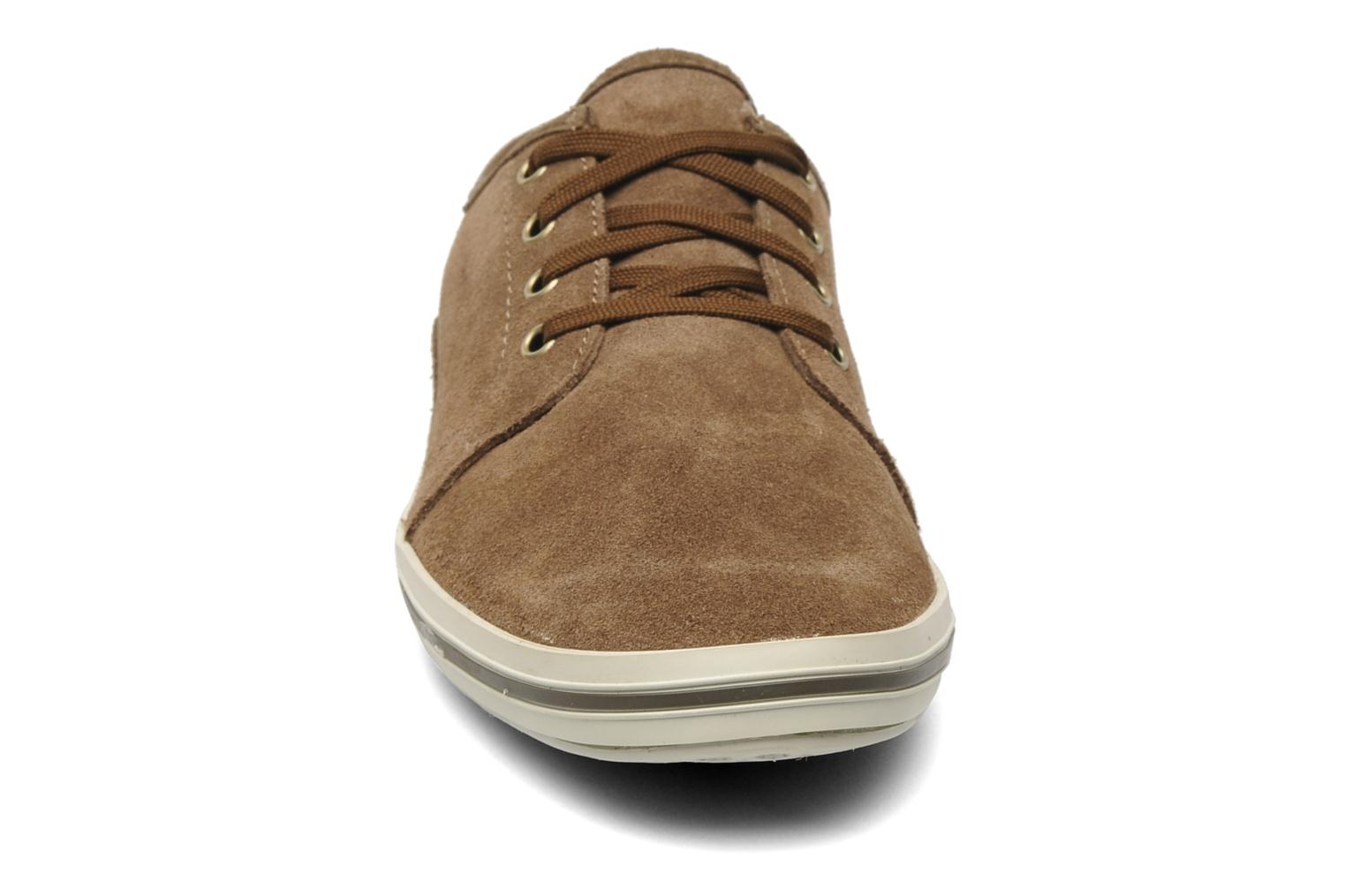 Baskets Timberland Earthkeepers Casco Bay Leather Ox M Marron vue portées chaussures