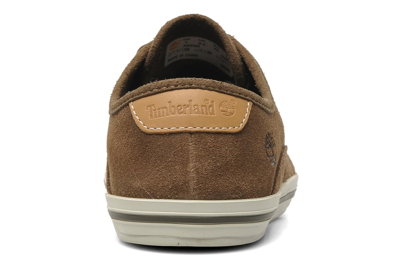 Baskets Timberland Earthkeepers Casco Bay Leather Ox M Marron vue droite