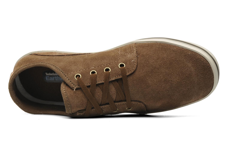 Sneaker Timberland Earthkeepers Casco Bay Leather Ox M braun ansicht von links
