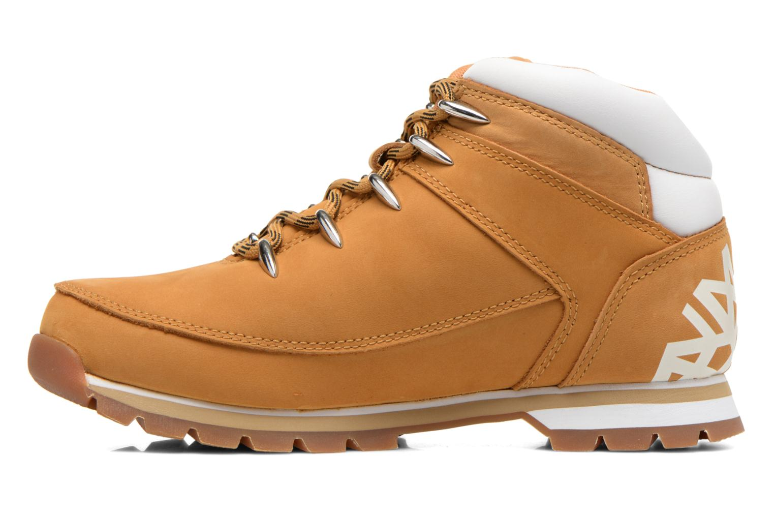Chaussures à lacets Timberland Euro Sprint Hiker Beige vue face