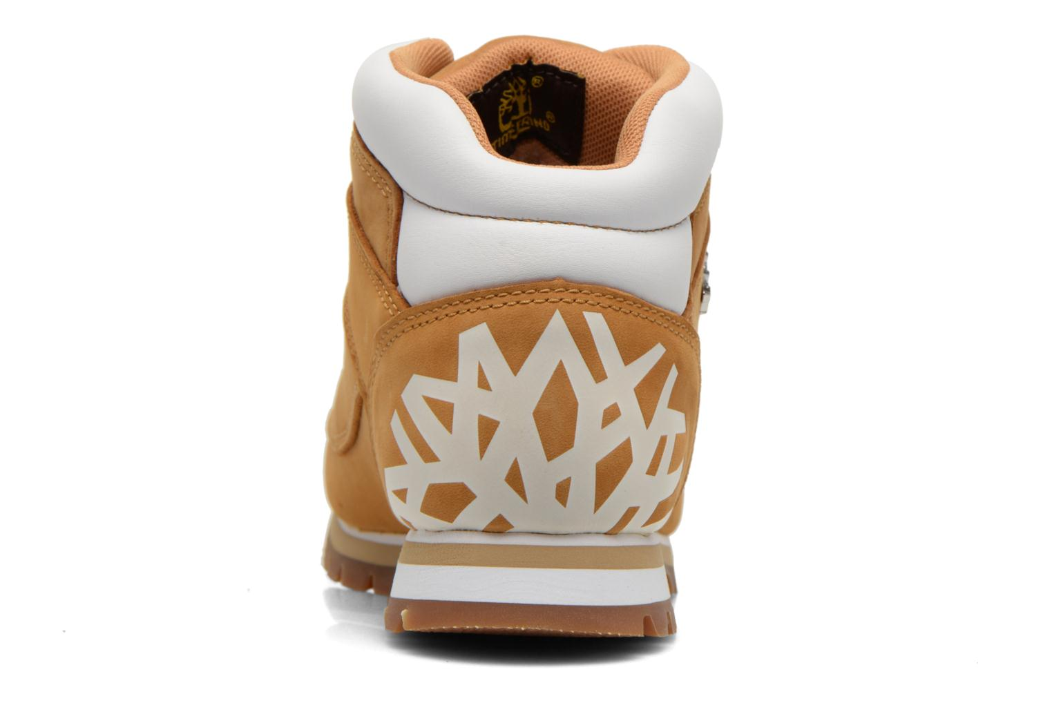 Chaussures à lacets Timberland Euro Sprint Hiker Beige vue droite