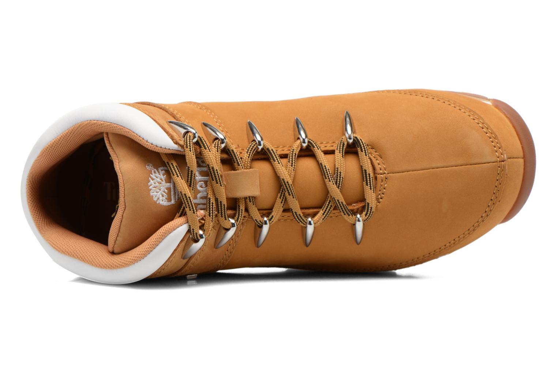Chaussures à lacets Timberland Euro Sprint Hiker Beige vue gauche