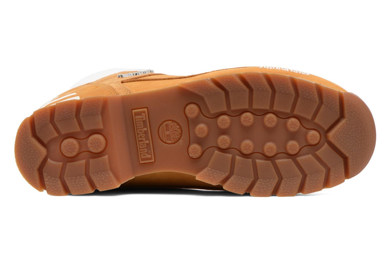 Chaussures à lacets Timberland Euro Sprint Hiker Beige vue haut