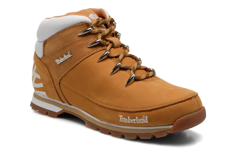 Chaussures à lacets Timberland Euro Sprint Hiker Beige vue détail/paire