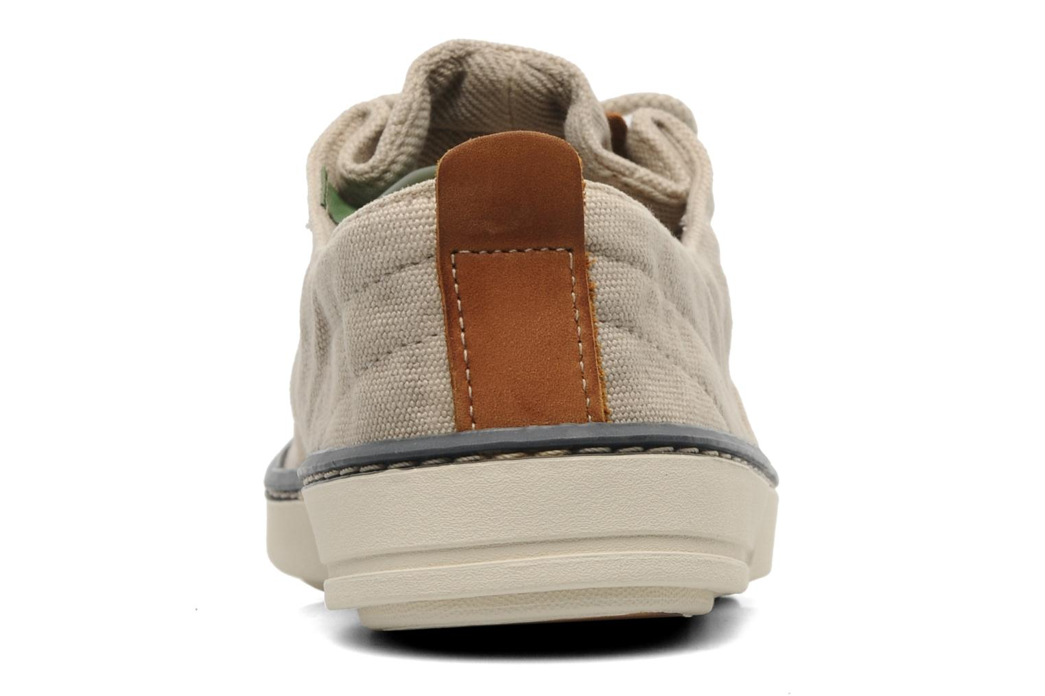 Deportivas Timberland Earthkeepers Hookset Handcrafted Canvas Ox Beige vista lateral derecha