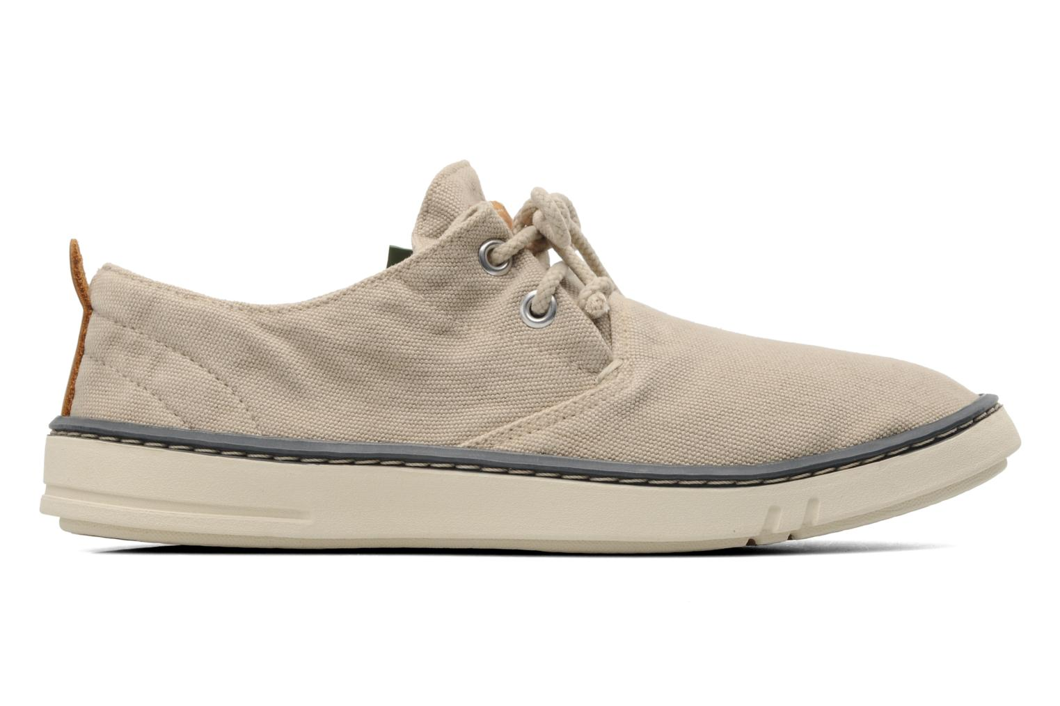 Deportivas Timberland Earthkeepers Hookset Handcrafted Canvas Ox Beige vistra trasera
